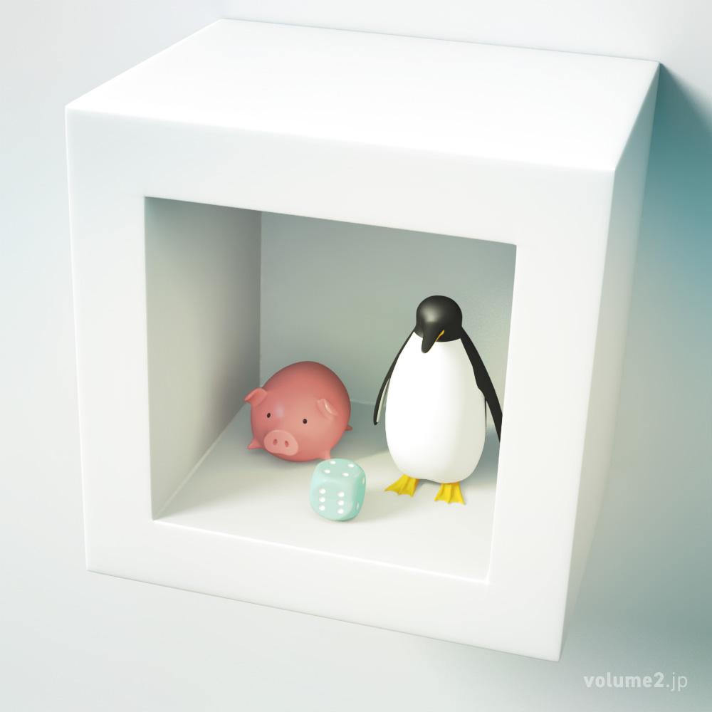 ブタサイコロペンギン