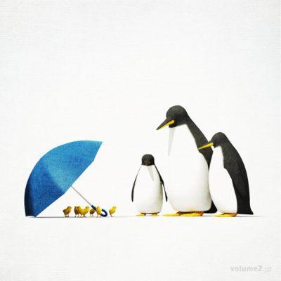 涼みたいペンギン